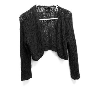 The Limited black cardigan size M
